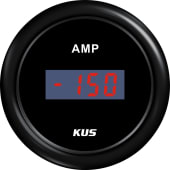 Kus digitalt amperemeter m/shunt +/-150A