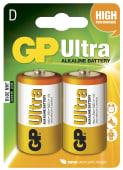 Batteri D 2pk