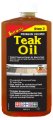 Star Brite Premium Golden Teak Oil - Step 3