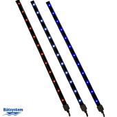 Båtsystem Striplight LED 300mm m/kaldhvit Lys 0,9W 12V