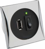Båtsystem USB Kontakt 2A 12/24V