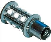 Båtsystem Lyspære LED Bay15D 2,4W 8-30V