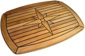 Bordplate Nautic Star Ovalt 63X90cm
