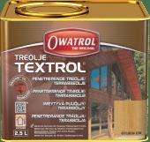 Owatrol Textrol Treolje Gylden Eik 2,5 liter