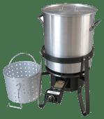 Krabbekokersett 40 liter