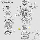 Lewmar Fast Fit Assembly V1/V2/V3