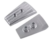 Aluminiumanode DPH drev hekk plate