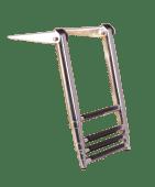 Badestige for Plattform Teleskop 4 Trinn Syrefast