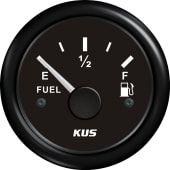 KUS Fuel Instrument 0-190 Sort/Sort