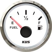 KUS Drivstoffmåler NMEA2000 Hvit