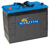 Maritim Dual 142Ah Batteri