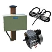 Kasco Bobleanlegg Robust-Aire 1 diffuser m/kabinett