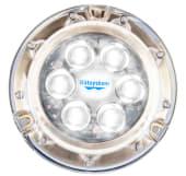 Båtsystem Aqualight Undervannslys 110mm LED Hvit