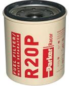 Racor Element R-20P Rød diesel/vannutskiller