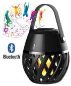 Flammelampe Helios LED m/Bluetooth høyttaler