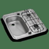 Dometic Koketopp 2 gassbluss med oppvaskkum HS 2460L