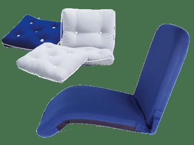 Puter og sitteunderlag