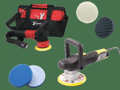 Poleringsmaskin / utstyr