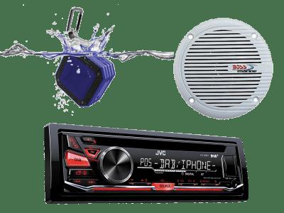 Dab, Stereo og høyttaler