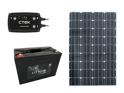 Batteri & Strømforsyning