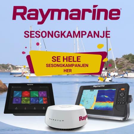 Raymarine innbytte 2021