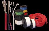 Kabel fortinnet Rød 1,5mm