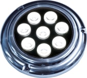 Båtsystem Aquadisc 1000 LED Hvit