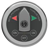 Sidepower Båt Switch Panel Rundt