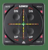 Lenco Auto Glide ettermonteringskit m/GPS dobbel sylinder