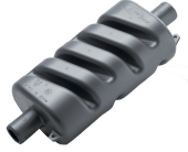 Lyddemper plast 102mm