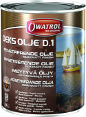 Owatrol Dekksolje D1 silkematt 2,5liter