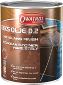 Owatrol Dekksolje D2 høyglans 2,5l