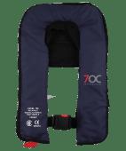 7OC Oppblåsbar vest marineblå