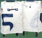 Trend Marine Sea King Foldbar Shoppingbag m/hjul