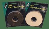 Tetningslist vinyl ensidig 10x3mm L3m Sort