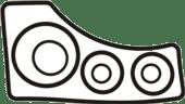 Sierra Drev Pakningssett For Mercr