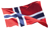 Flagg Norge 300cm