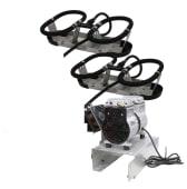 Kasco Bobleanlegg Robust-Aire 2 diffusere u/kabinett