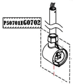 Haswing 30 Rotor-bearing holder