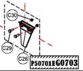 Haswing Ospian 30 Motor fin