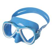 Dykkermaske Elba junior helblå silikon