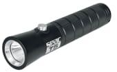 Dykkerlykt batteri T5 Svart LED 3x AAA batteri Vanntett