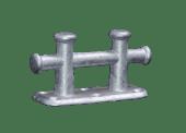 Krysspullert galvanisert Dobbel 180X70mm