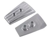 Aluminiumsanode DPH drev hekk plate
