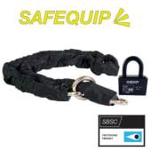 Låsepakke Safequip Klasse 3 2,5m m/Lås