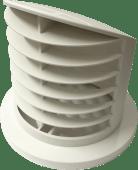Eberspächer vridbar dyse åpen 75/90mm 90 grader hvit