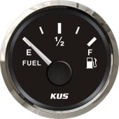 KUS drivstoffmåler NMEA2000 Sort