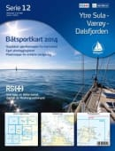 Båtsportkart 12-Ytre Sula-Værøy-Dalsfjorden