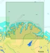 C-Map Max-N+ Lokal Bukta til Pechenga