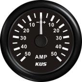 Kus Amp.meter m/shunt Analog +/-50A